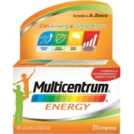 MULTICENTRUM MC ENERGY 25 CAPSULE
