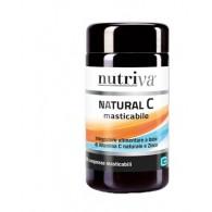 NUTRIVA NATURAL C 60 COMPRESSE MASTICABILI