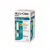 STRISCE MISURAZIONE GLICEMIA ACCU-CHEK ACTIVE STRIPS 50 PEZZI INF RETAIL - 1