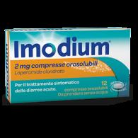 IMODIUM 2 MG COMPRESSE OROSOLUBILI 12 COMPRESSE - 1