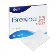 BREXIDOL 14 MG 4 CEROTTI MEDICATI
