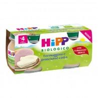 HIPP BIO OMOGENEIZZATO FORMAGGINO PROSCIUTTO 2X80 G - 1