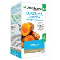 ARKOCAPSULE CURCUMA  PIPERINA BIO 40 CAPSULE ARKOPHARMA - 1