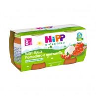 HIPP BIO HIPP BIO OMOGENEIZZATO SUGO POMODORO MOZZARELLA 2X80 G - 1