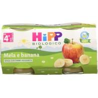 HIPP OMOGENEIZZATO MELA E BANANA 2 X 80 G - 1