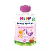 HIPP FRUTTA FRULLATA UNICORNO MELA PRUGNA GIALLA PESCA 90 G