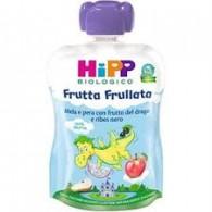 HIPP FRUTTA FRULL DRAGONE MELA PERA FRUTTA DEL DRAGO RIBES NERO 90 G