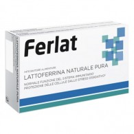 LATTOFERRINA NATURALE PURA 40 COMPRESSE FERLAT - 1