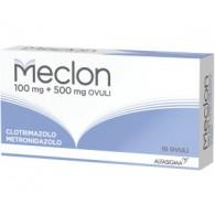 """MECLON """"100 MG + 500 MG 10 OVULI"""