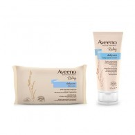 AVEENO BABY BARRIER 100 ML + BABY WIPES PROMO