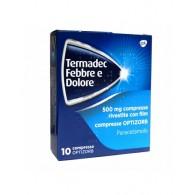 TERMADEC FEBBRE E DOLORE 500 MG COMPRESSE RIVESTITE CON FILM - COMPRESSE OPTIZORB - 500 MG COMPRESSE RIVESTITE CON FILM 10 C...